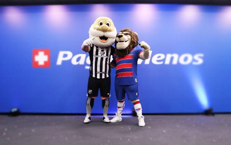 Pague Menos anuncia patrocínio ao Fortaleza e Ceará até o fim dessa edição do Brasileirão
