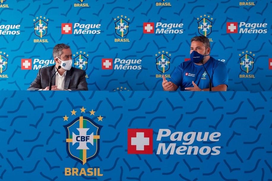 Farmácias Pague Menos é a nova patrocinadora da Seleção Brasileira