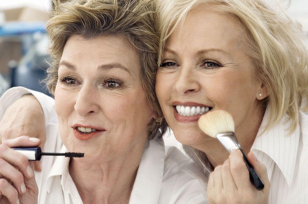 Make-up para pele madura: o truque é disfarçar e realçar