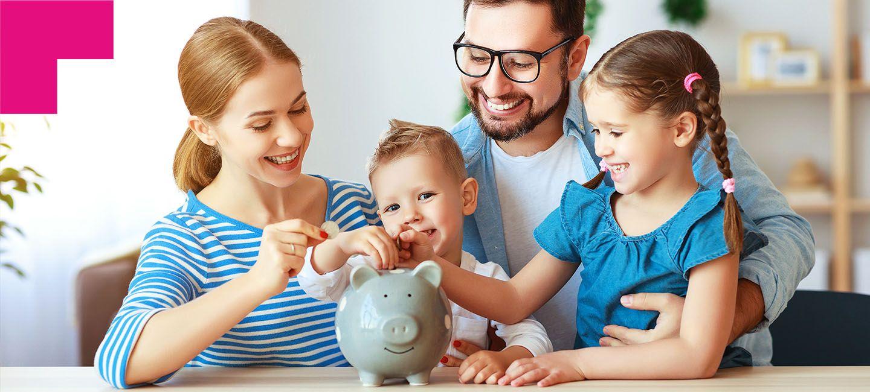 Bendito cofrinho: educação financeira para crianças