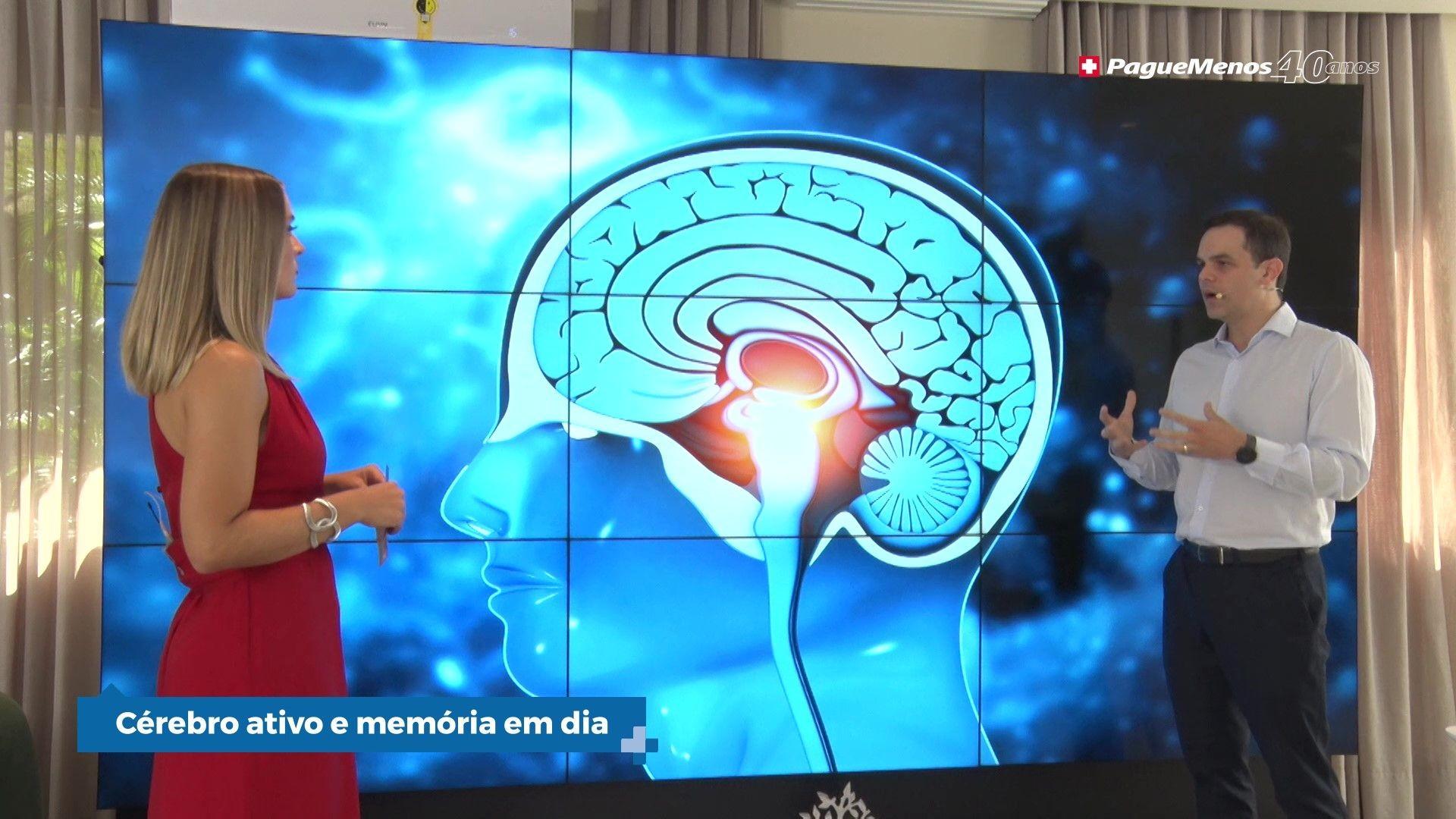 Cérebro ativo e memória em dia