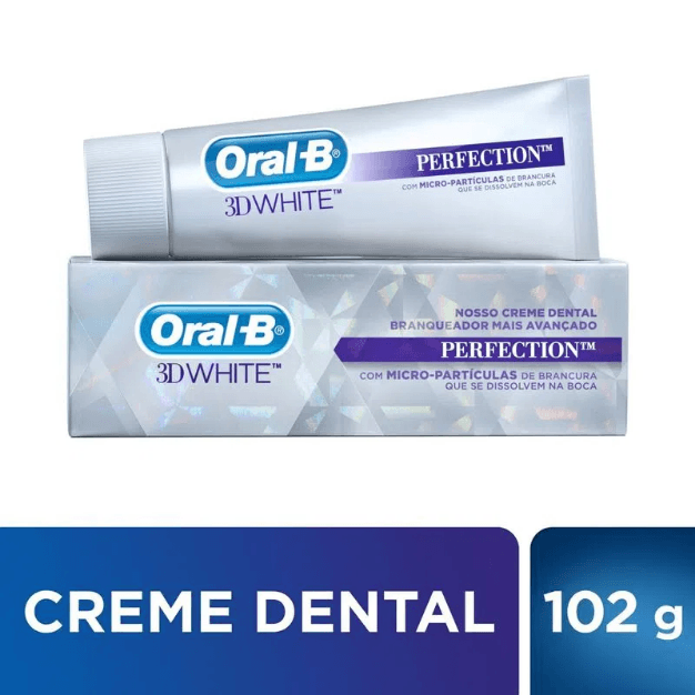 Creme Dental Oral-B 3d White Perfection - 75ml