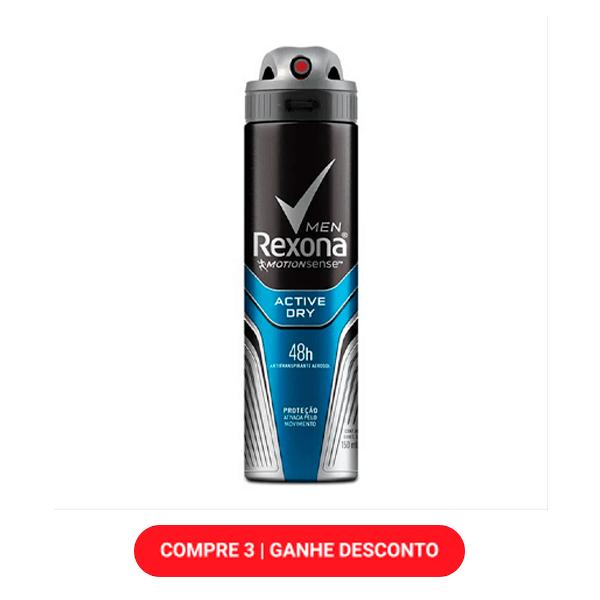 Desodorante Rexona Active Dry 150ml