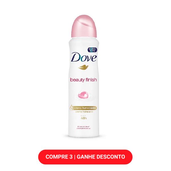 Desodorante Dove Beauty Finish Aerossol 89g