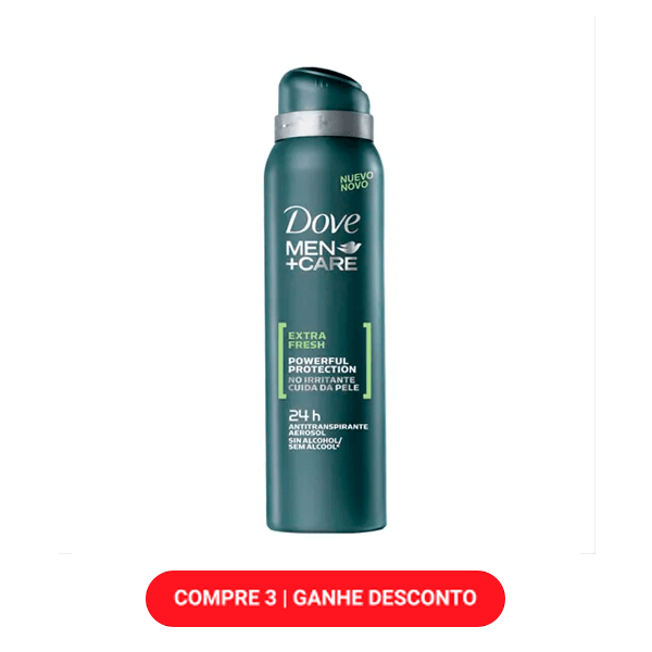 Desodorante Dove Men Extra Fresh 89g