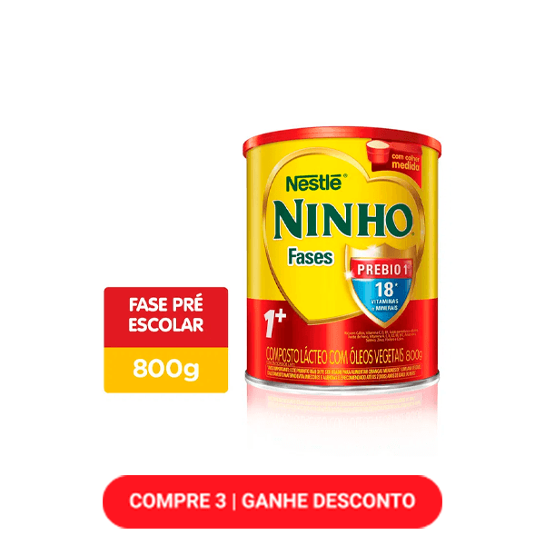Composto Lácteo Ninho Fases 1+ 800g