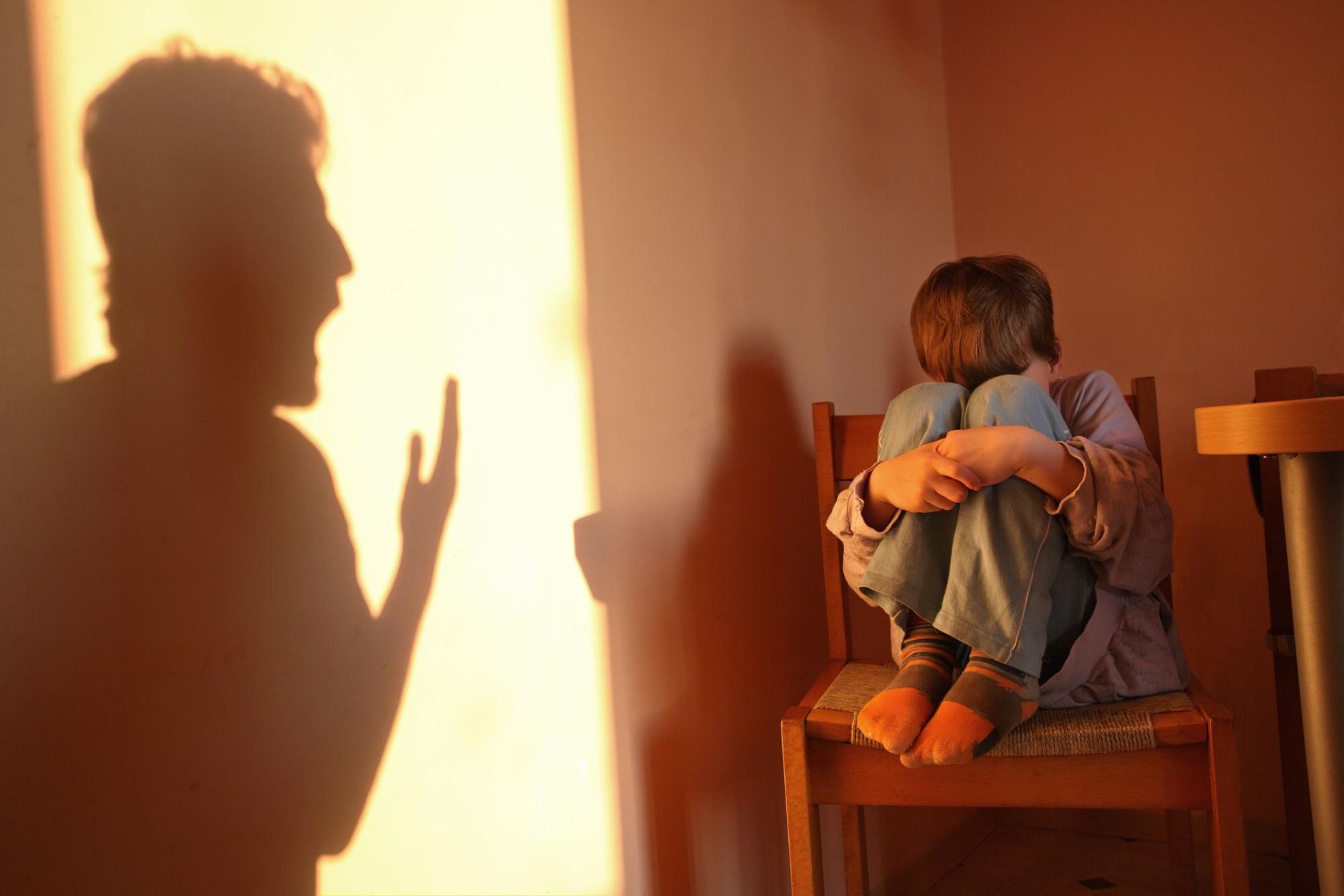 Sinais de abuso psicológico em crianças