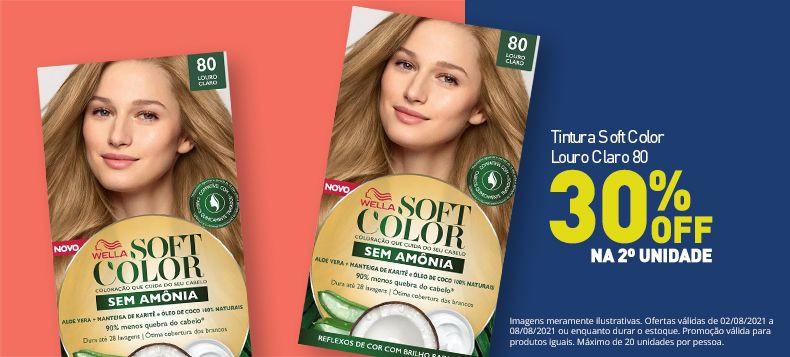 Tintura Soft Color Louro Claro 80