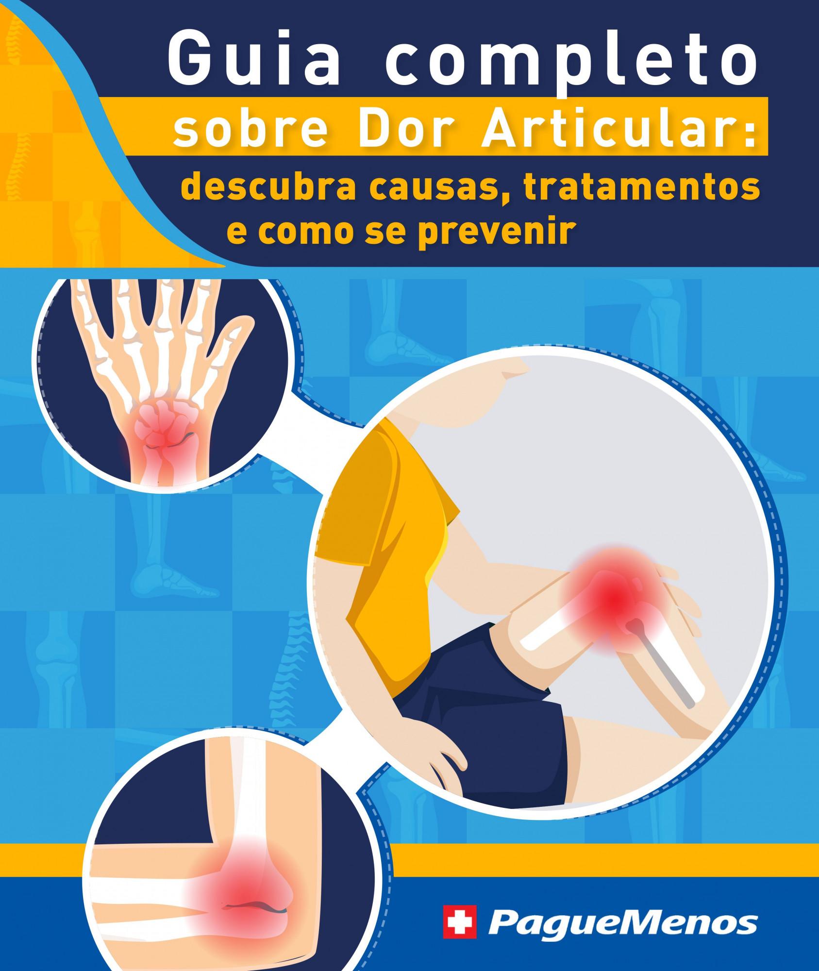 E-book: O guia completo sobre dor articular: descubra as causas, tratamentos, e como prevenir