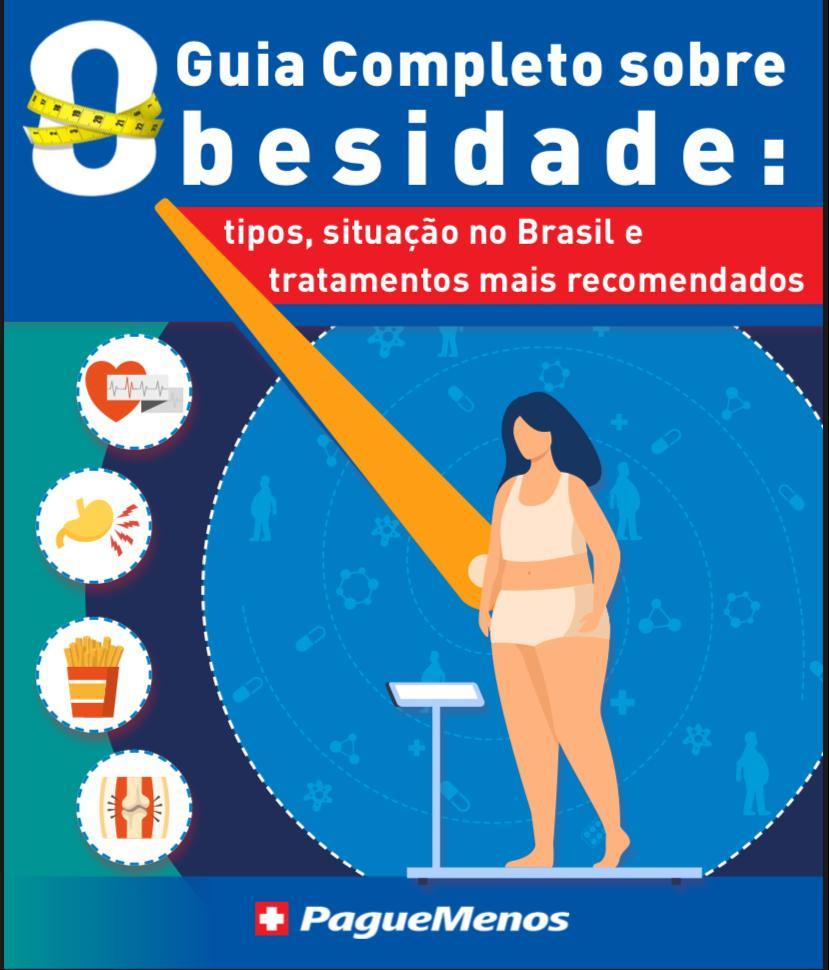 E-book: O guia completo sobre obesidade